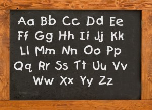alphabet-on-the-old-style-blackboard-1307451